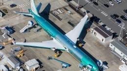 Испытания новейшего самолета Boeing 777X закончились неудачей— видео