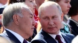 Путин иНазарбаев придумали название космического ракетного комплекса