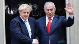 Нетаньяху назвал Бориса Джонсона Ельциным— видео