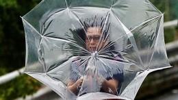 60 человек пострадали оттайфуна «Факсай» вЯпонии. Есть погибшие