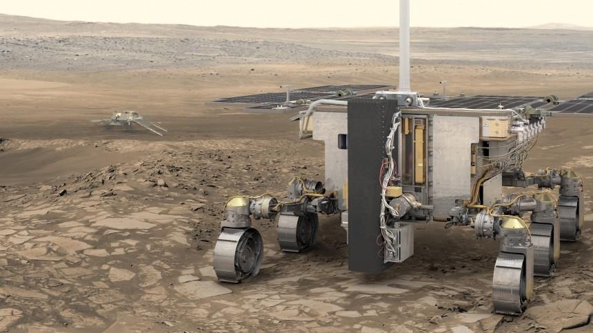 ВСША полагают, что европейско-российская экспедиция несможет отправиться наМарс