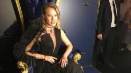 Королева Собчак изолотая рыбка Глюкоза: самые эффектные наряды премии GQ