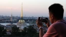 Беглов заявил опланах принимать вПетербурге более 12млн туристов вгод