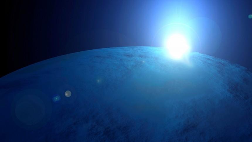 Напотенциально пригодной для жизни планете обнаружена вода
