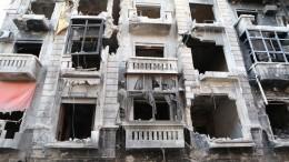 Всирийском Алеппо начали восстанавливать кварталы Старого города