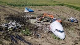 МАК подготовил отчет опричинах жесткой посадки A-321 вкукурузном поле
