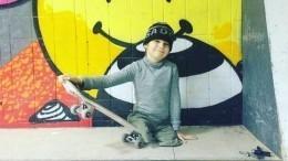 «Хочу выступить наПаралимпиаде»: 10-летний скейтбордист без ног освоих планах
