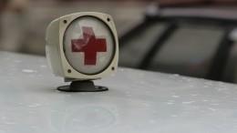 Момент смертельного столкновения поезда иавтобуса вКазахстане попал навидео