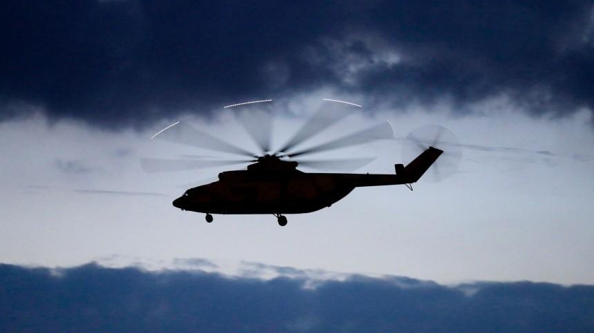 Вертолет Ми-26 совершил аварийную посадку вХанты-Мансийске