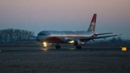 Очевидцы сообщили овозгорании шасси при посадке самолета изМосквы вТиват