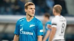 «Зенит» готов дать второй шанс Александру Кокорину