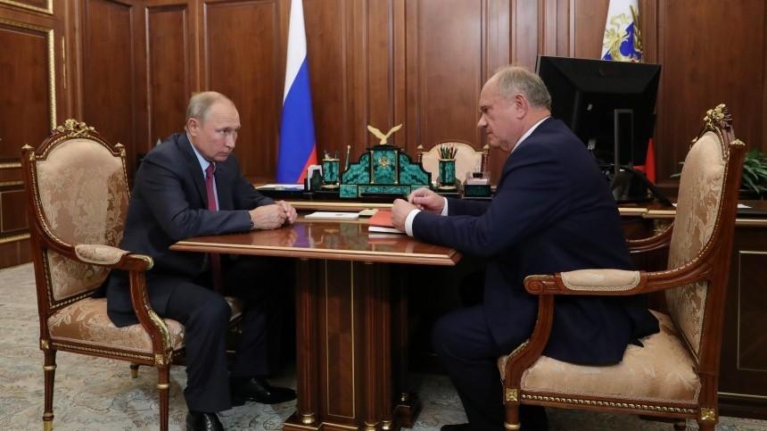 Путин прокомментировал предложение о«ремонте выборной системы»