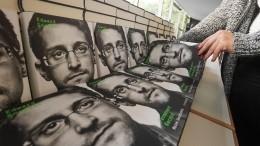 После иска США мемуары Сноудена стали самой продаваемой книгой вмире