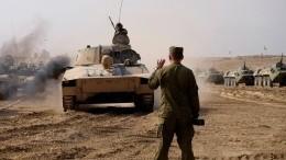 Видео: российские военные ликвидировали условного противника вТаджикистане