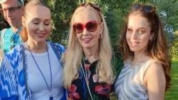 Вдова Кобзона восхитила гостей фестиваля вСочи моложавым видом