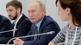 «Дима, отдай!»— Владимир Путин молниеносно отреагировал нажалобу обизлишней бюрократизации