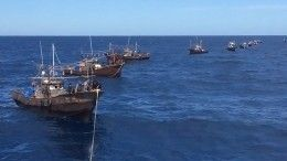 Опубликовано видео задержания вЯпонском море браконьеров изКНДР