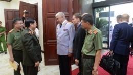 Колокольцев вХаное встретился свьетнамскими полицейскими— выпускниками ведомственных вузов