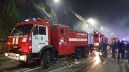 Прокуратура начала проверку после пожара вторговом центре вГрозном