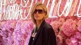 «Столько секса!» Брежнева влеопардовых лосинах посетила неделю моды вМилане