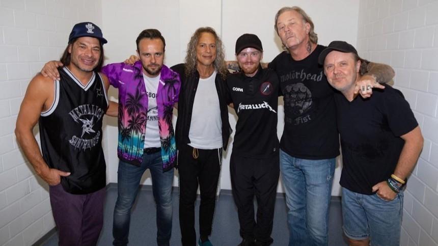 Metallica названа самой успешно гастролирующей группой вмире