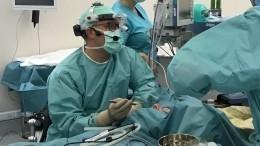 Врачи центра «СОГАЗ» провели показательную операцию ивосстановили носовое дыхание упациента