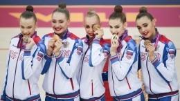 «Девчонки молодцы!»: Российские гимнастки завоевали восьмое золото наЧМвБаку