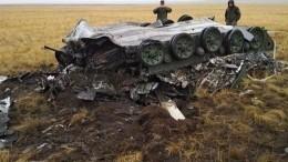 Боевые машины ВДВ разбились научениях вОренбургской области