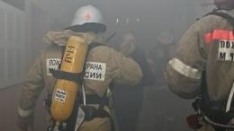 ВЖуковском вовремя тушения пожара взорвались баллоны спропаном