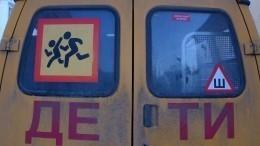 Новые требования при перевозке детей автобусами утвердили вРоссии