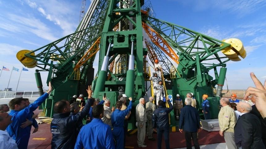 «Союз МС-15» успешно пристыковался кМКС