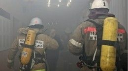 Кадры пожара вхостеле навостоке Москвы сдевятью пострадавшими