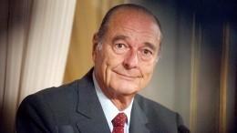 Жак Ширак скончался воФранции