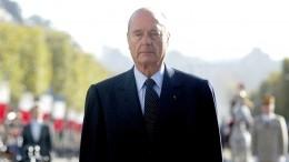 Память Жака Ширака почтили минутой молчания вНацсобрании Франции