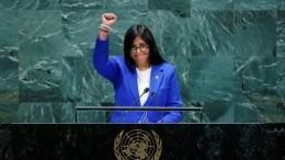 Несколько делегаций покинули зал Генассамблеи ООН входе выступления Венесуэлы