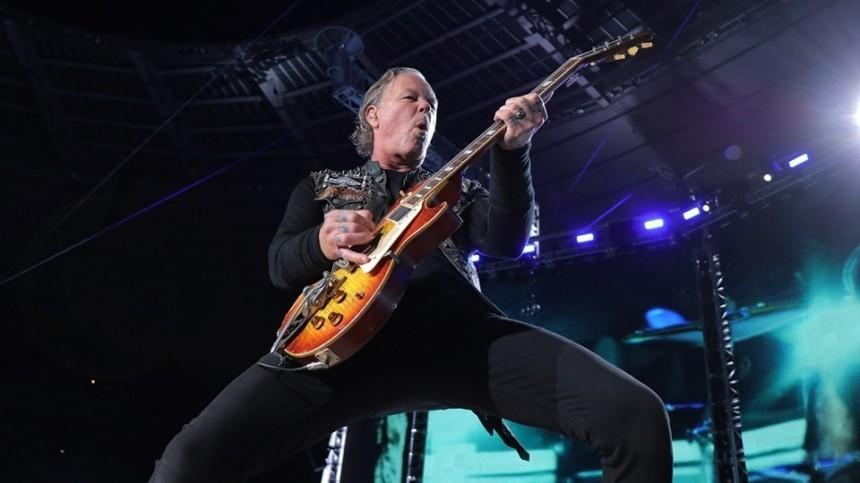 Рок-группа Metalliса отменяет гастроли из-за запоя фронтмена