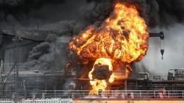 Наборту загоревшегося судна впорту Южной Кореи могли находиться граждане РФ