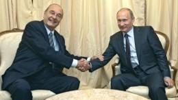 Владимир Путин поедет нацеремонию прощания сЖаком Шираком