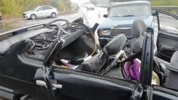Фото: Втройном ДТП под Курском погиб младенец, еще двое детей пострадали