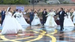 Видео: Самая многонациональная свадьба вмире проходит вДербенте