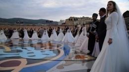 Два мировых рекорда установили набольшой дагестанской свадьбе вДербенте