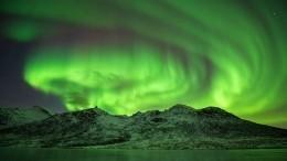 Красивейшее северное сияние вЛапландии попало навидео