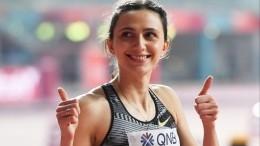 Ласицкене стала первой вистории трехкратной чемпионкой попрыжкам ввысоту