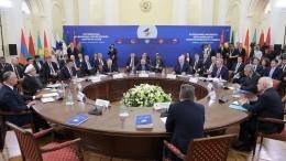 ЕврАзЭС ведет переговоры осотрудничестве с13 странами— Путин
