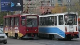 Два трамвая столкнулись вМоскве, есть пострадавшие— фото