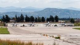 Нааэродроме Хмеймим вСирии появится новая взлетно-посадочная полоса