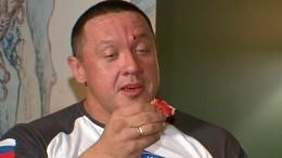 Емельяненко разбил вкровь лицо Кокляеву вмосковском баре