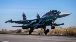 Видео: три последних бомбардировщика Су-34 прибыли вавиаполк под Челябинском