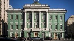 Путин поручил временно разместить Госдуму вДоме союзов