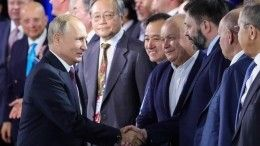 Путин пообщался сВышинским после заседания дискуссионного клуба «Валдай»